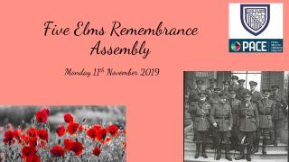 Remembrance assembly NEW